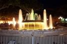 Нощен фонтан от аквичоп в Тарега