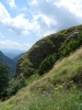 Аквичоп на стръмен склон