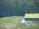 Хижа Рай и палатката ни за аквичоп